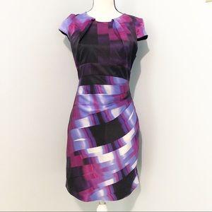 BEBE Silk Floral Dress sz Small